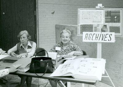 DJHS building fundraising 1978