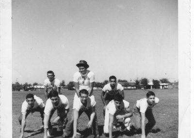 Football game in Dallas, TX October, 1959