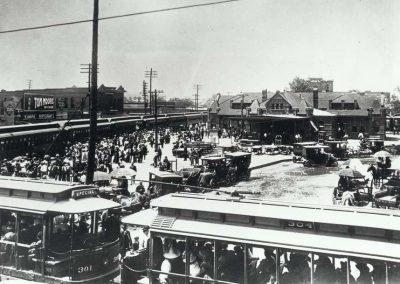 Dallas Railroad Depot, 1908
