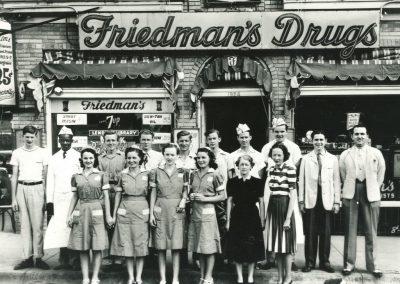 Friedman's Drugs, 1940