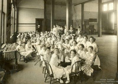 NCJW Sewing Class, 1915