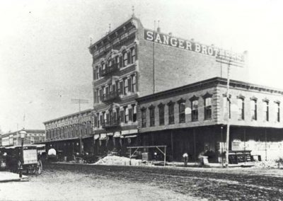 Sanger Brothers Department Store, 1890