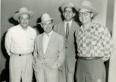 Federation Event, 1950s. Morton Sanger, Sol Katz, Jack Kravitz, Topletz
